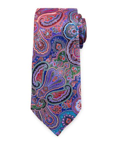 Quindici Paisley Tie