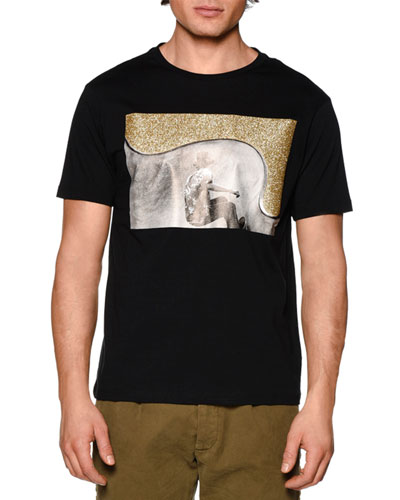 Skater Graphic Short-Sleeve T-Shirt, Black/Multi