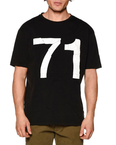 Graphic Short-Sleeve T-Shirt, Black