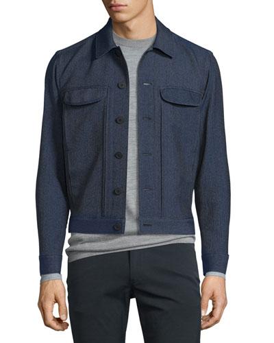 Sammy Hartwick Utility Jacket, Navy