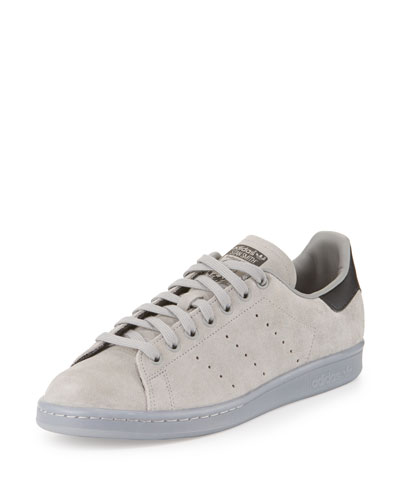 Men's Stan Smith Suede Sneaker w/Ice Outsole, Gray