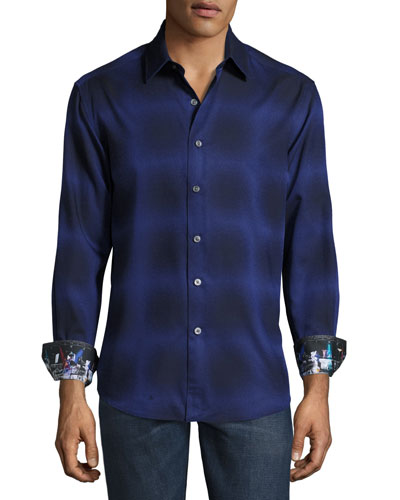 Dark Energy Sport Shirt, Dark Purple