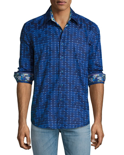 Dark Matter Sport Shirt, Navy