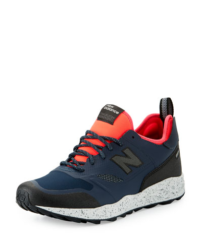 Men's Trailbuster Re-Engineered Outdoor Sneaker, Navy/Pink