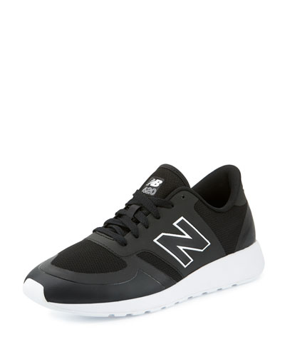 Men's 420 Re-Engineered Sneaker, Black/White