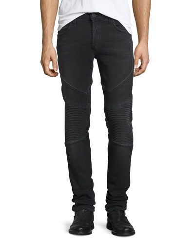 Bearden French Terry Moto Jeans, Cragmite