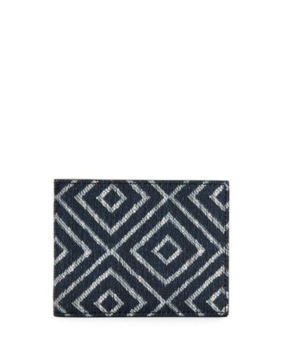 Capsule Now Geometric-Print Bi-Fold Wallet