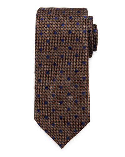 Textured Dot Neat Tie