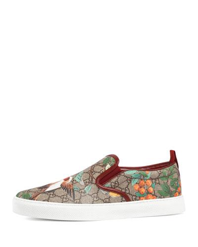 Dublin Tian GG Supreme Slip-On Sneaker, Multicolor
