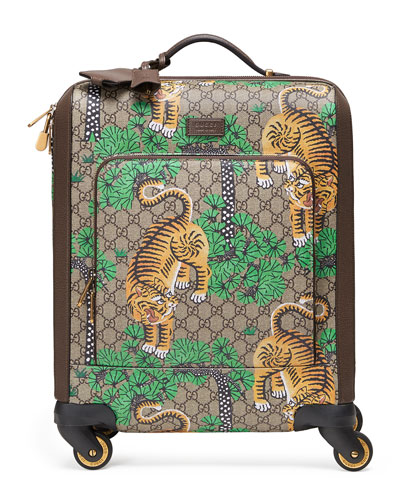 Bengal GG Supreme Carry-On Trolley, Beige