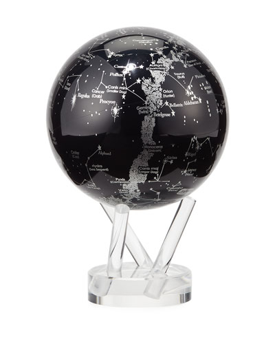 MOVA® Space Constellations Globe, Black/Silver
