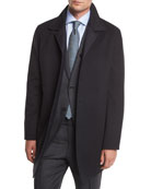 Reversible Wool/Cashmere Coat