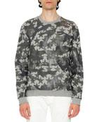 Camustars Printed Sweatshirt, Gray