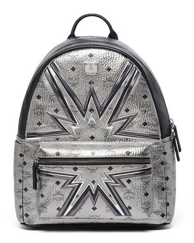 Stark Cyber Flash Medium Backpack, Silver