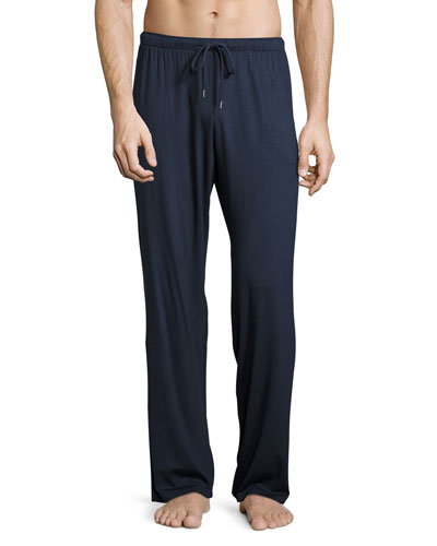 Cotton Lounge Pants, Navy