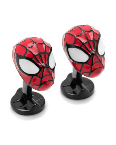 3D Spiderman Cuff Links
