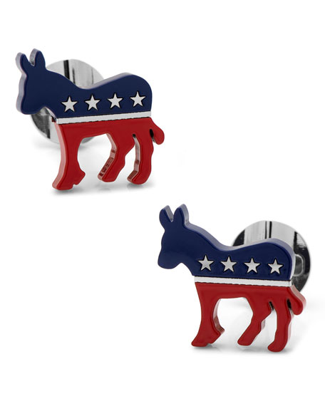 Cufflinks Inc. Democratic Donkey Cuff Links