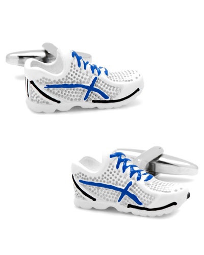 3D Running Shoes Cuff Links