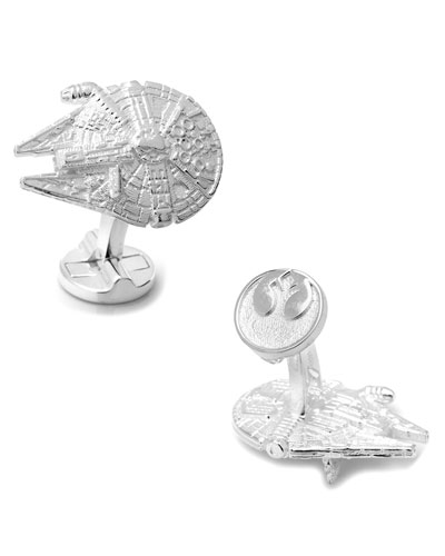 Star Wars Millennium Falcon Sterling Silver Cuff Links