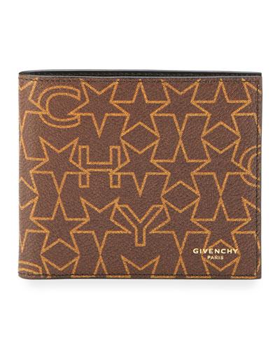 Logo-Print Bi-Fold Wallet