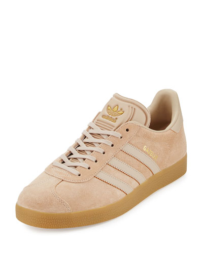 Men's Gazelle Original Suede Sneaker, Clay Brown