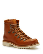 Frye Woodson Leather Hiker Boots