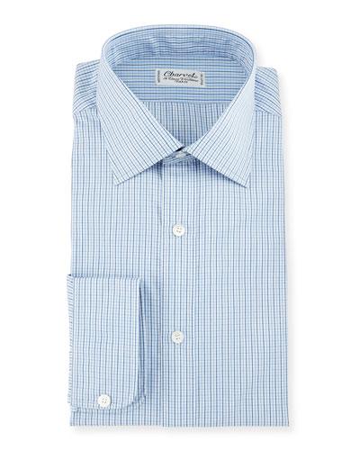 Graph Check Dress Shirt, Blue
