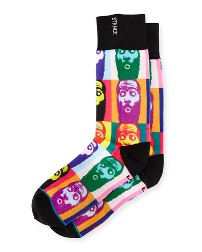 x James Harden Lohraw Socks, Multicolor