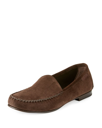 Howard Suede Loafer, Chocolate