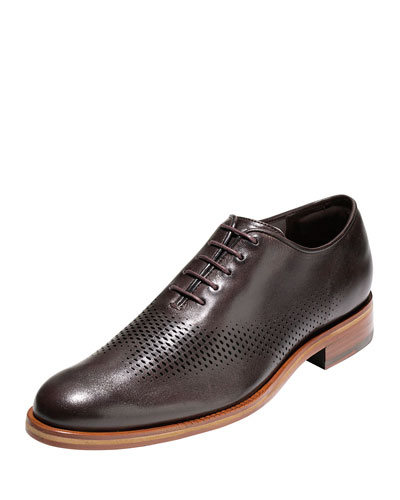 Washington Grand Laser Wing-Tip Oxford, Chestnut