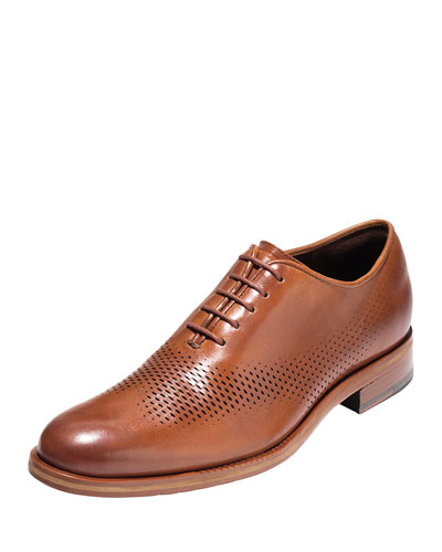 Washington Grand Laser Wing-Tip Oxford, British Tan