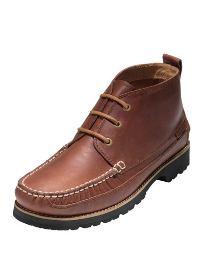 Connery Moc-Toe Chukka Boot, Barley