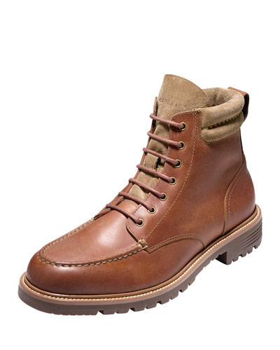 Grantland Waterproof Lace-Up Boot, Woodbury