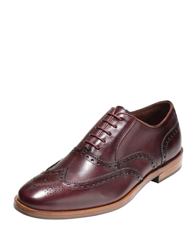 Hamilton Grand Wing-Tip Oxford, Cordovan