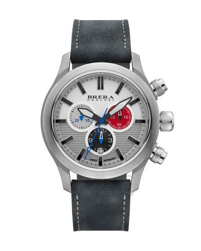 Orologi Eterno Chronograph Watch, White/Gray