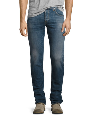 Standard Issue Fit 2 Mid-Rise Relaxed Slim-Fit Jeans, Canning