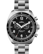 Men's 44mm Rambler 600 Tachymeter Watch, Silver