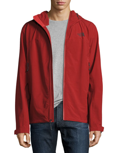 Leonidas 2 Hooded Jacket, Red