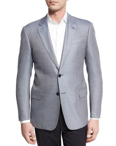 Light Blue Sports Coat   Neiman Marcus