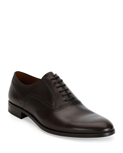 Bruxelles Leather Oxford Dress Shoe, Black