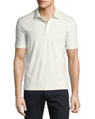 Supima® Cotton Polo Shirt, White