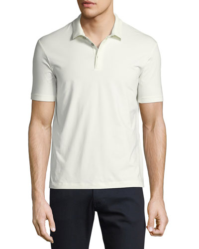 Supima® Cotton Polo Shirt, White