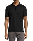 Supima® Cotton Polo Shirt, Black