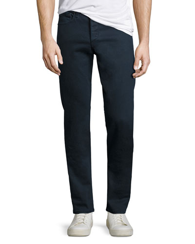 Standard Issue Fit 2 Mid-Rise Relaxed Slim-Fit Jeans, Coated Navy