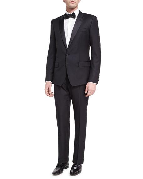 Dolce & Gabbana Martini Two-Piece Tuxedo Suit, Black
