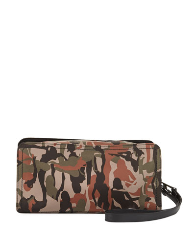 Clyde Camouflage Nylon Toiletry Case