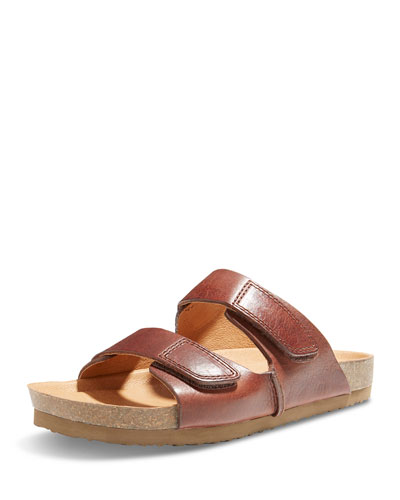 Westbrook 1955 Double-Strap Slide Sandal, Brown