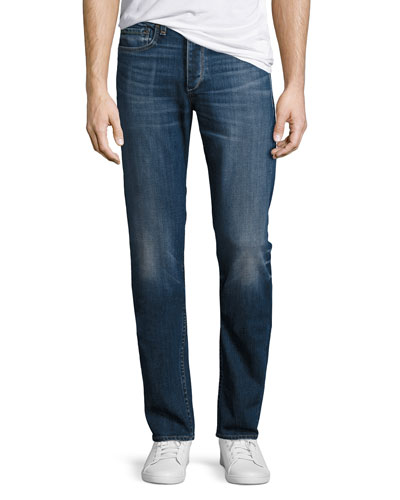Standard Issue Fit 2 Mid-Rise Relaxed Slim-Fit Jeans, Dillon