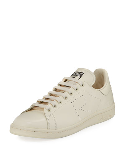 Men's Stan Smith Leather Low-Top Sneaker, Crème