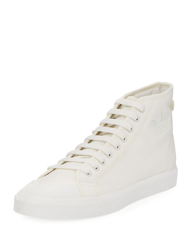 Men's Spirit Canvas High-Top Sneaker, Beige